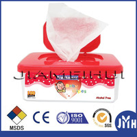 plastic wipe case/FACIAL WET TISSUE WIPES BOX/baby wipe plastic cases