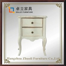Luxury Dubai bedroom furniture nightstand in sideboard