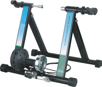 Bike trainer magnetic