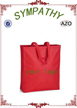 fashion full printing non-woven customed tote shipping bag