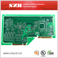 94 Vo 1.6mm 1 oz Lead Free HASL pcb manufacturer in Sunthone