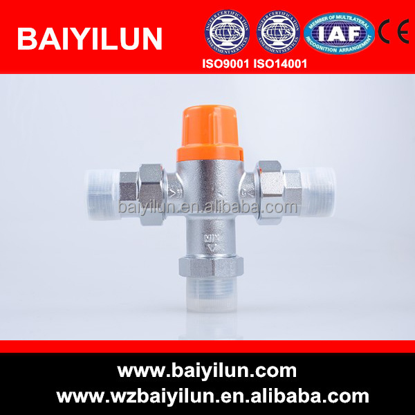 dn20 solar water heater thermostatic tempering valve