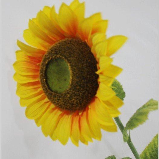 echt aussehende sonnenblumen k nstliche sch ne alleinerziehende sonnenblumen f r dekoration. Black Bedroom Furniture Sets. Home Design Ideas