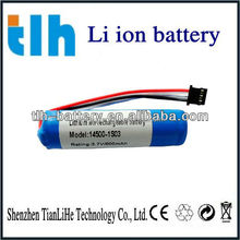 3.7v 800mah aa 14500 lithium ion battery with NTC