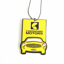 Custom Hanging Paper Car Air Freshener