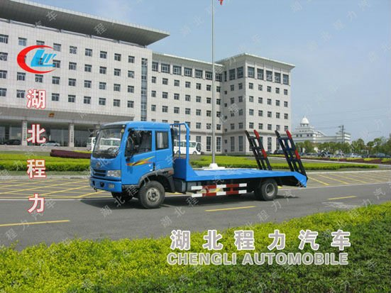 Heavy long bed Truck Loading excavator for sale!