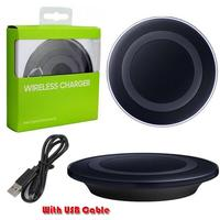 Hot Sale QI Charging Pad Wireless Charger for SAMSUNG GALAXY j2 j5 j7 S6 / S6 Edge / S6 Edge Plus / S7 / S7 Edge / Note 5