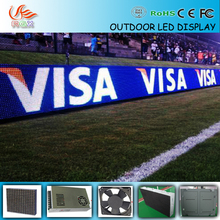 Football sports P16 Wide View Curved Perimeter Screen Advertising Stadium LED Display