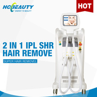 Two handles cheap shr ipl permanent hair removal face