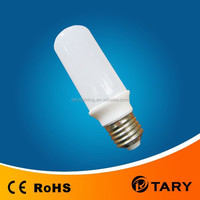 led cylindrical bulb, 7W led corn light with pc cover