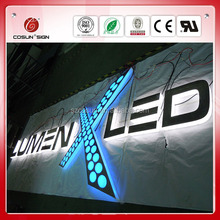 custom led different styles alphabet letters