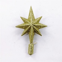 Hot Selling Decoration Heart Christmas Tree Star Topper