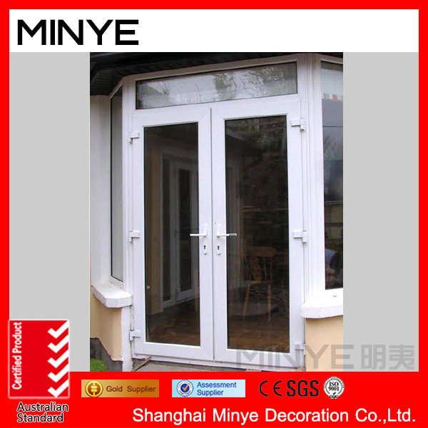 Aluminum French Doors Exterior/Commercial Aluminum Double Steel ...