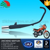 125CC Black Paint Heat Resistance New Motorcycle Muffler