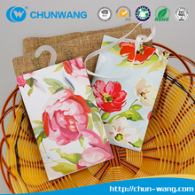 Eco-friendly natural fresh scented paper sachet for clothes