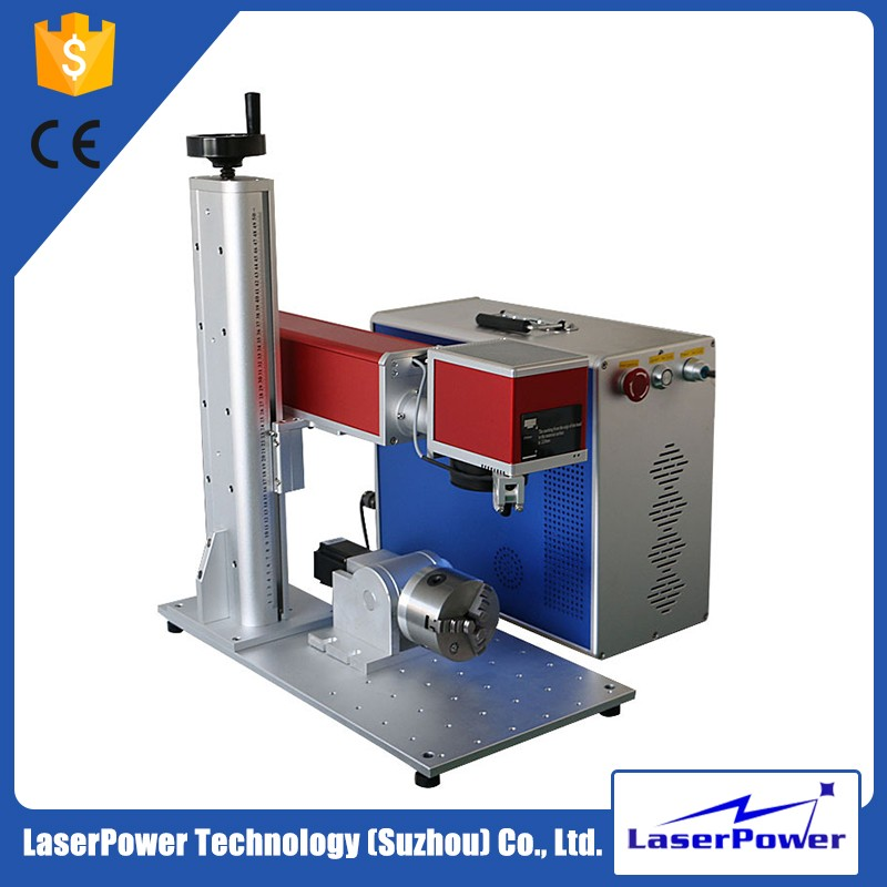High Precision Excellent Quality Fiber 20W Laser Marking Machine for Metal