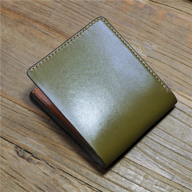 high end cowhide leather money clip grain leather short <strong>wallet</strong> for man