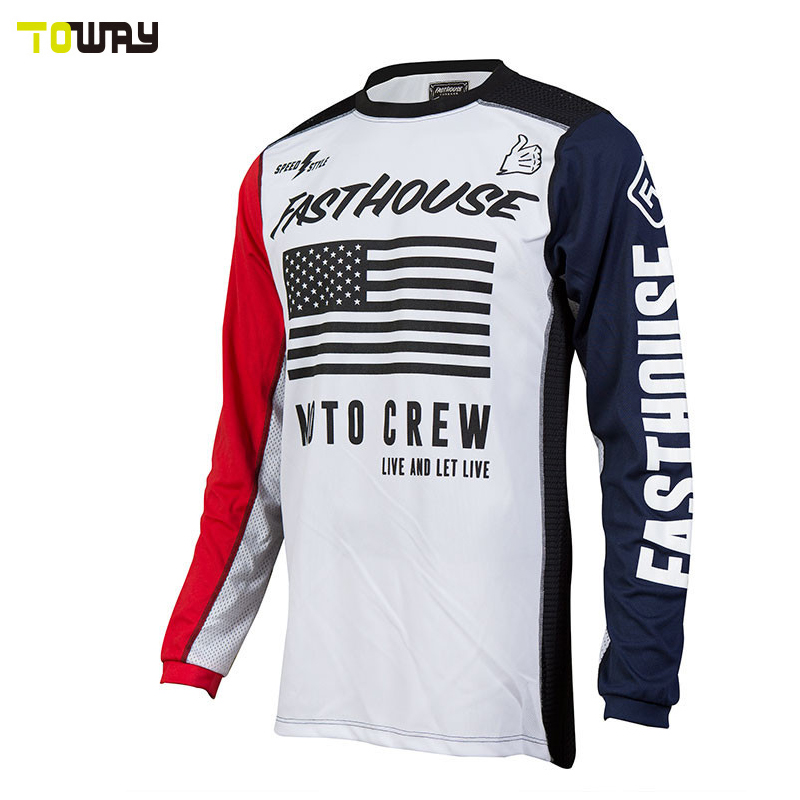 sublimation design your own 6xl motocross jersey