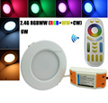 Mi.Light 2.4G RF Remote Wifi Controlled Smart Phone RGB+CCT 6W LED Downlight