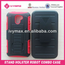 stand holster robot combo case for huawei m931 cellphone shell