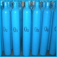 Manufacutured in China CE/TPED Certificate Weight of Welding Oxygen Cylinder