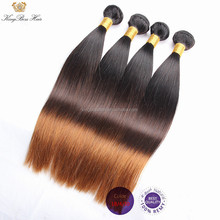 Machine weft straight wave curly Hair Extension Remy Grade hair expoter