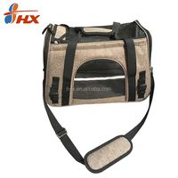 Fashion Design airline approved travel pet carrier bag