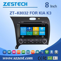 GPS digital media player car dvd navigation For Kia cerato 2015 2016 with Win CE 6.0 system 800MHz 3G Phone GPS DVD BT