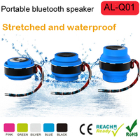 New Portable Mini Wireless Bluetooth Speakers Waterproof Speakers Silicone Audio Mp3 Player Outdoor Sports Travel Speakers