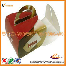 High quality recycled round sweet cake box made in China