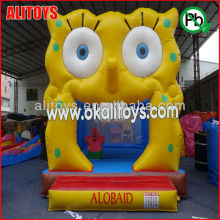 2014 inflatable octopus small bouncer for kindergarten inflatable bouncer