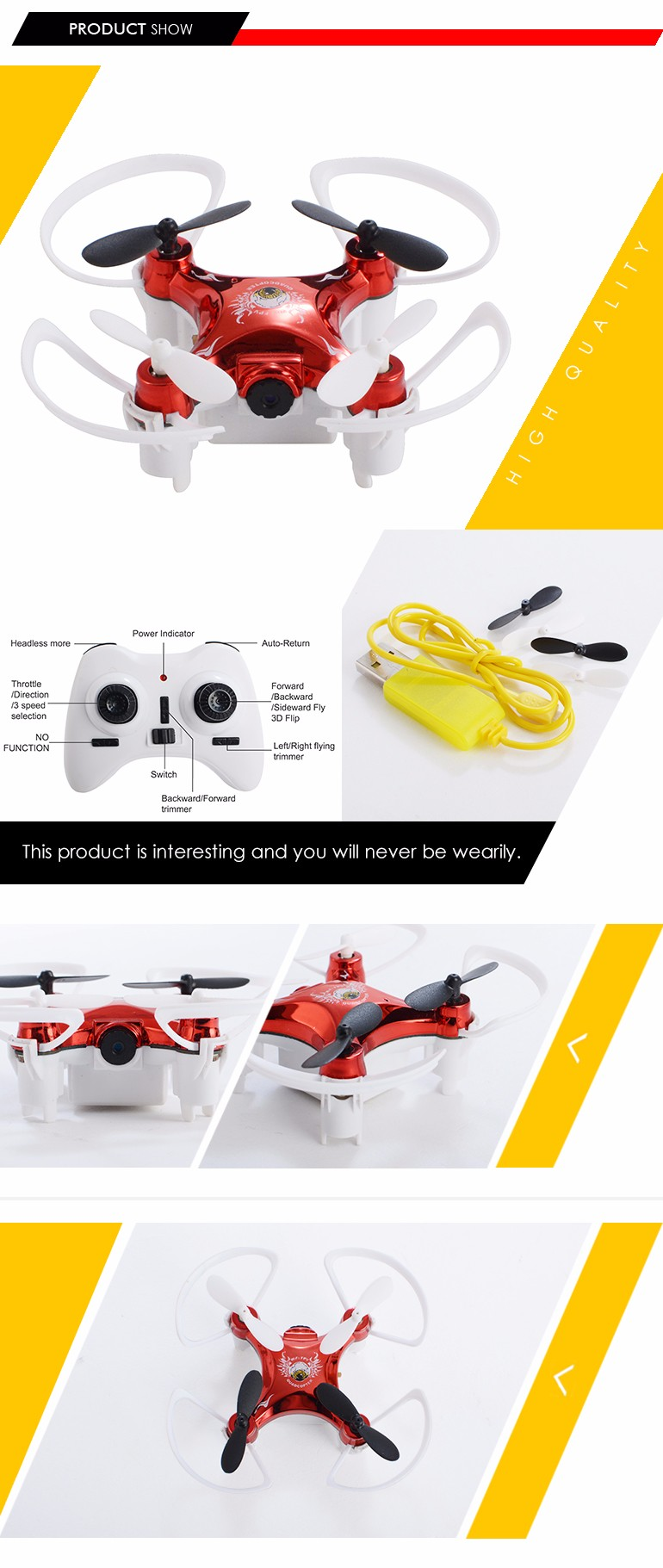 china import kids flying toys 2.4G 6 axis rc camera drone wifi from oem factory