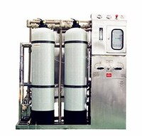 15T per day fresh water reverse osmosis seawater desalination for resorts /island
