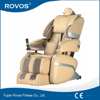 public reclining air bag robotic massage chair device
