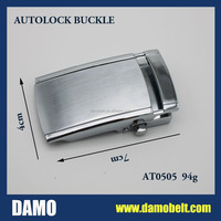 Best Seller Silver Smooth Buckle for Men Belt(AT0504)