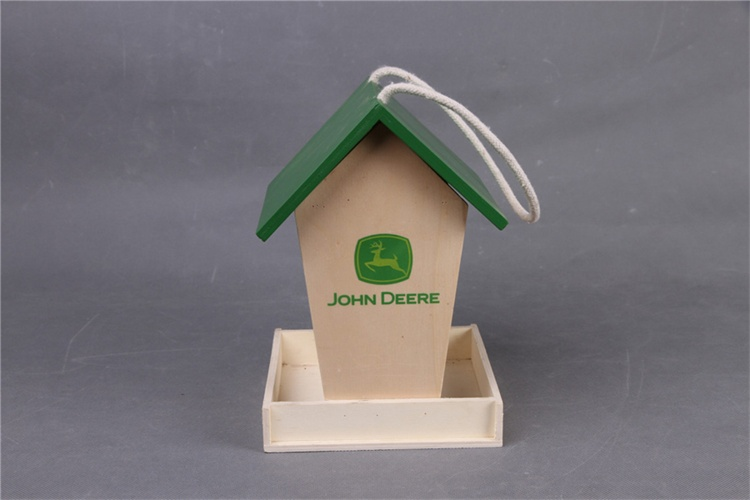 Green color Plywood bird house