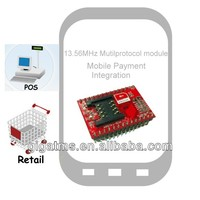 13.56MHz Multi Protocol RFID Module with SAM slot