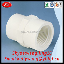 high quality plastic PVC male and female pipe fitting, 20mm PVC pipe and fitting price for water,drainage
