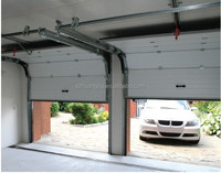 Automatic Infrared Safety Folding Sectional Panel Galvanized Steel Sandwich Garage Doors Cheap Price