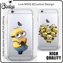 2017 Cute Minion Case for Samsung Galaxy J3 Soft TPU Mobile Phone Case for Samsung Galaxy S5 Case J5 2016