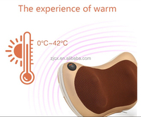 Electric Body Shiatsu Car Air Neck Pillow Massager/vibration neck massage pillow with CE,RoHs certified for home/car/office