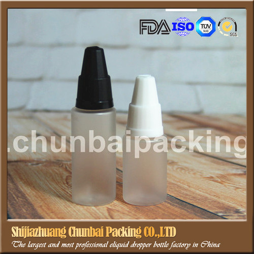free sample frost bottle plastic machine with child and tamper proof seal designing