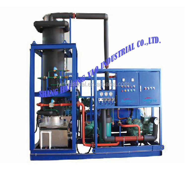 Refrigeration Large output Tube ice machine ice making factory 20t/24hrs