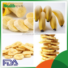 low calories low fat dried baked bananas slices supplier