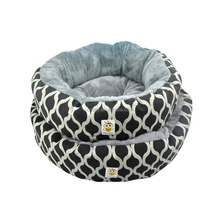 Pet Beds Manufacturer Wholesale Soft Plush Canvas Classic Design Dog Bed