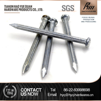 china galvanized black steel concrete nail sizes