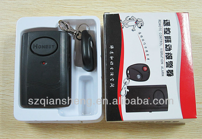 Wireless Remote Control Vibration Alarm,wireless Vibration Alarm with infra-red door window alarm