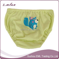 Cute cartoon printing girls underwear panty