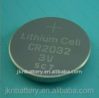 3V lithium coin cell battery CR2032 for motherboard ,electronic scale calculator elctronic dictionary