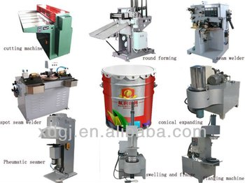 10-20L metal cans making machine